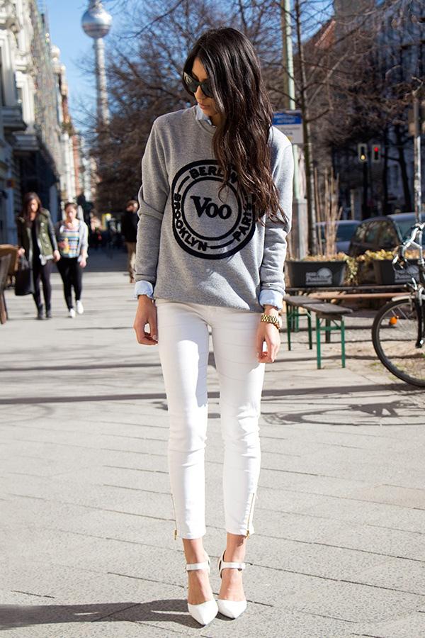 時髦趨勢 ※ 春夏穿搭一定要有的『白色褲子』!