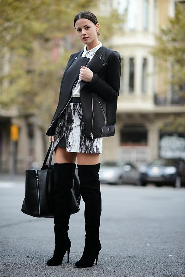 zara skirt, zina charkoplia, high boots, elegant, chic, blogger, brand, fashionvibe.jpg