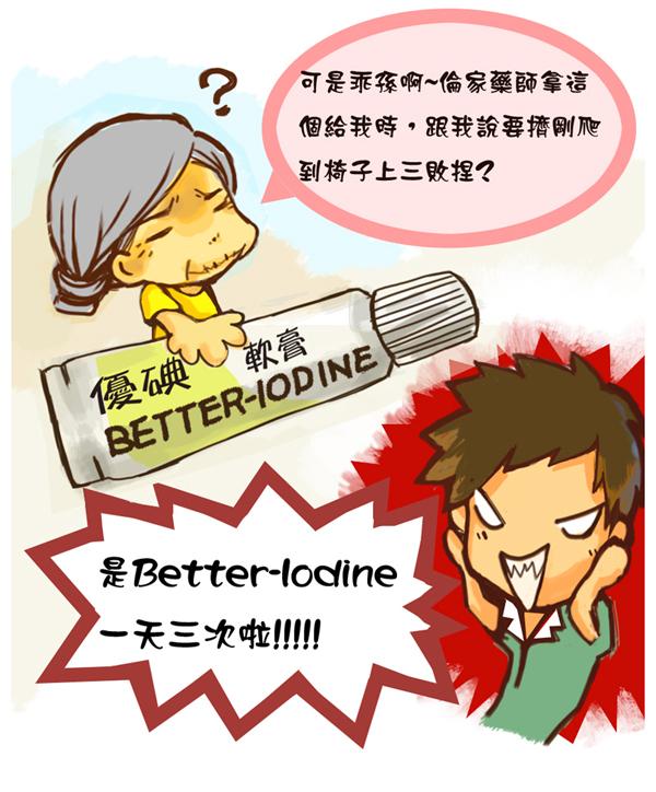 看清藥品標示及用法