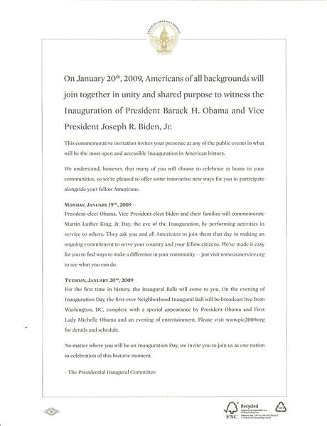 歐巴馬信紙