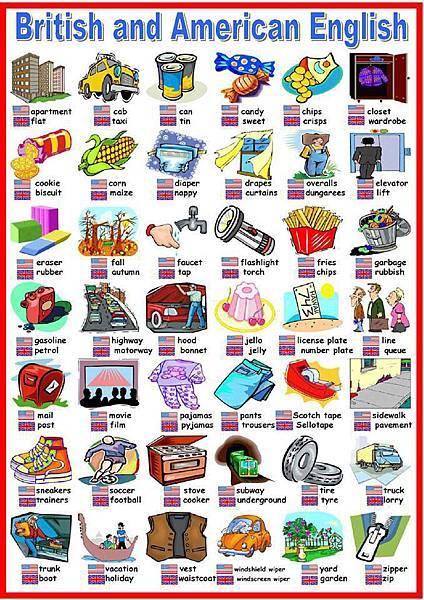 美式英文vs英式英文