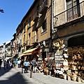 塞哥維亞阿卡薩城堡附近的Shopping小道.jpg