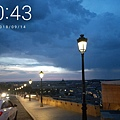 西班牙9月晚上8:30都還未天黑,吃飽散步非常浪漫.jpg