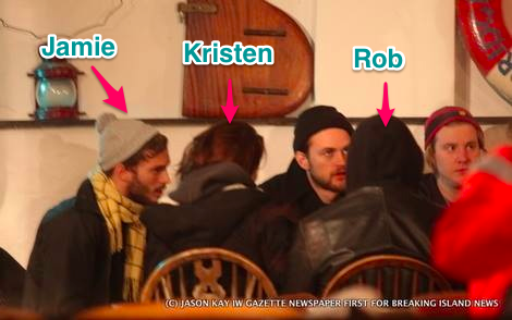 Jamie with Rob and Kristen