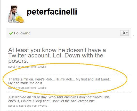 Rob's first Twitt.jpg