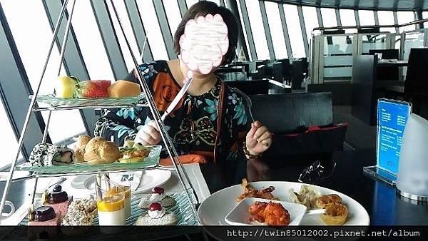 2澳門旅遊塔360度景觀下午茶 (2)