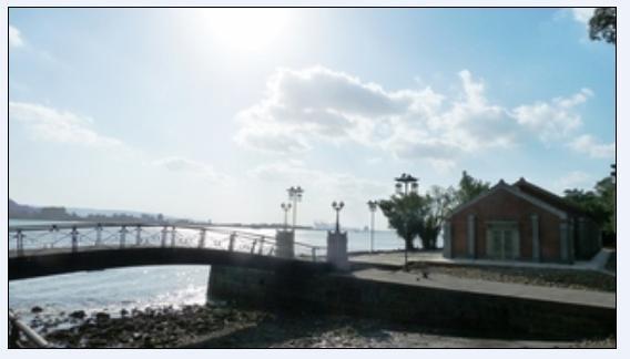 淡水碼頭海關