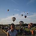 耶 滿天熱氣球