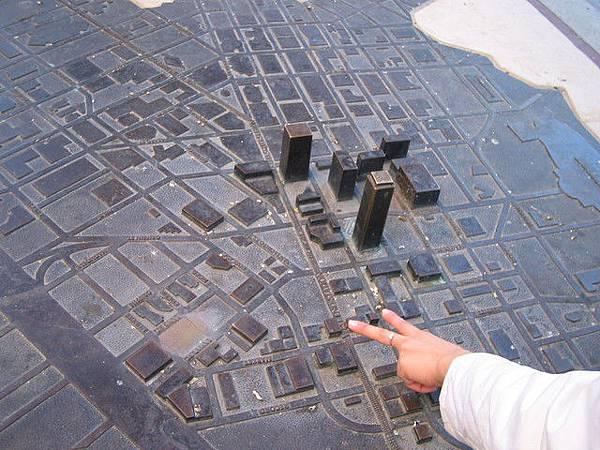 downtown小模擬圖