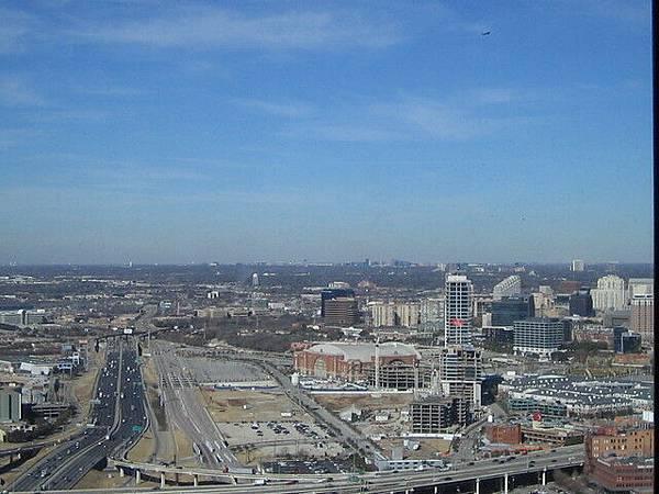 從tower上看downtown