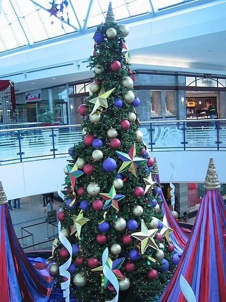 某個mall的聖誕樹