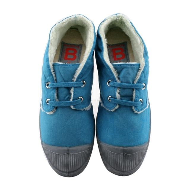 【BENSIMON 1206 每日一物】土耳其藍 中筒毛毛鞋,驚喜價999元-002