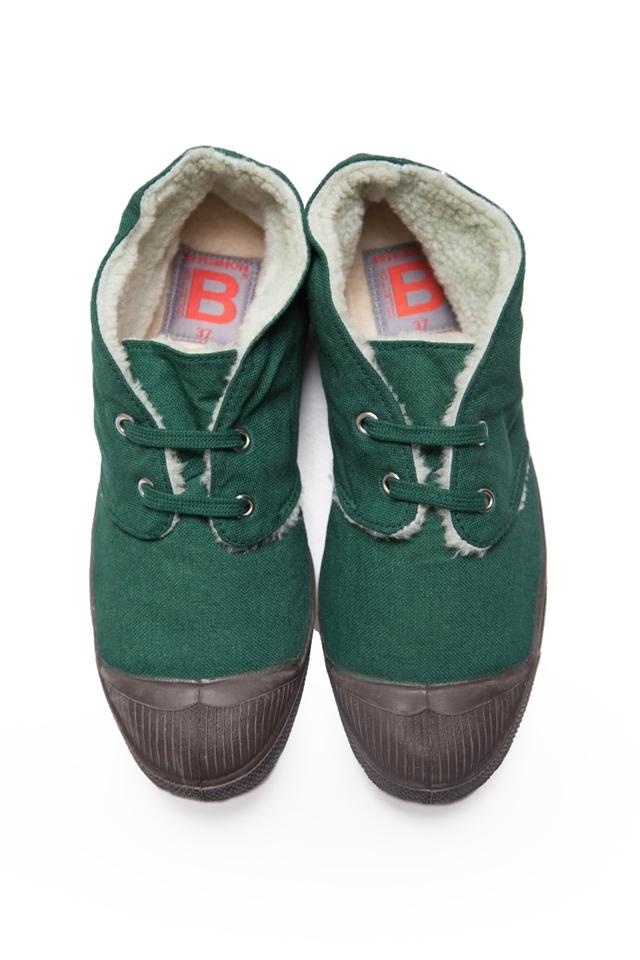 【BENSIMON 1206 每日一物】森林綠 中筒毛毛鞋,驚喜價999元-003