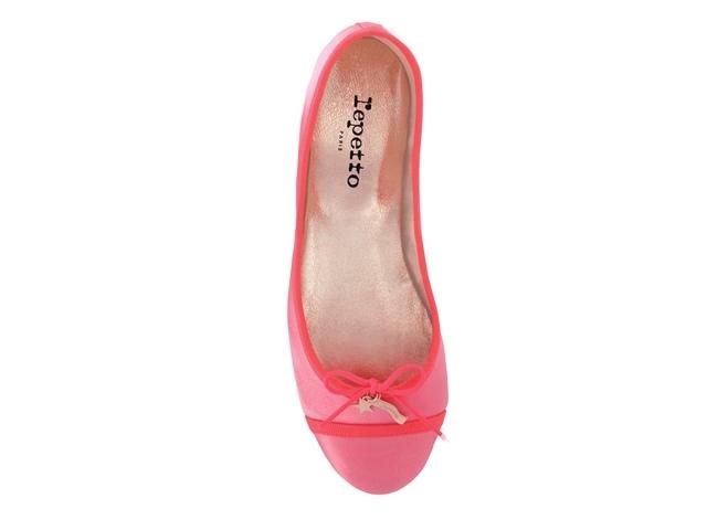 【Repetto 1206 每日一物】亮桃紅布面芭蕾舞鞋,驚喜價2,268元-008