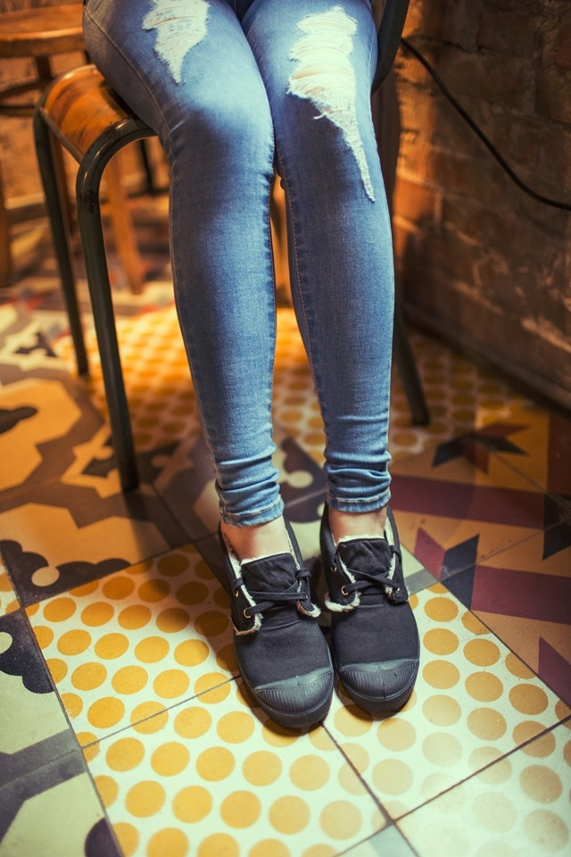 BENSIMON 中筒毛毛鞋系列,買一送一-001