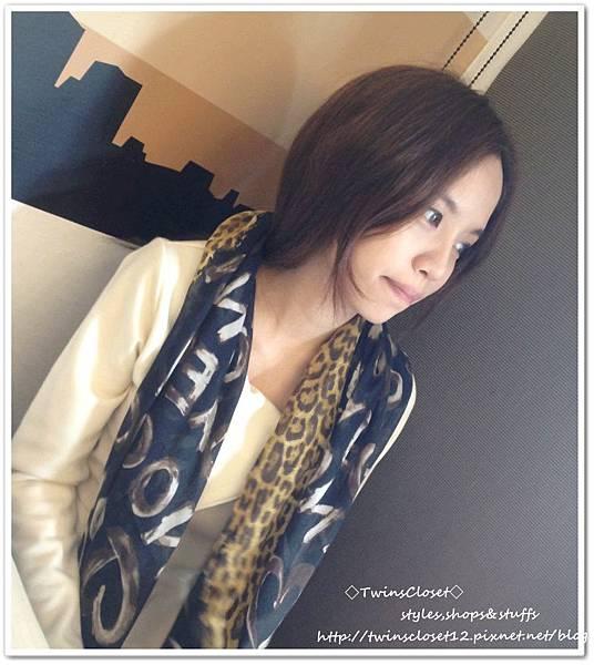 豹紋圍巾U1