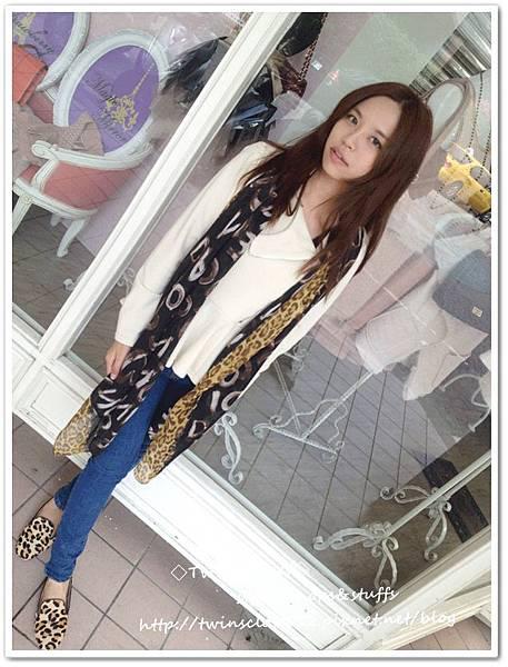 豹紋圍巾U4