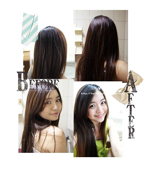 BEFORE &AFTER修改完成
