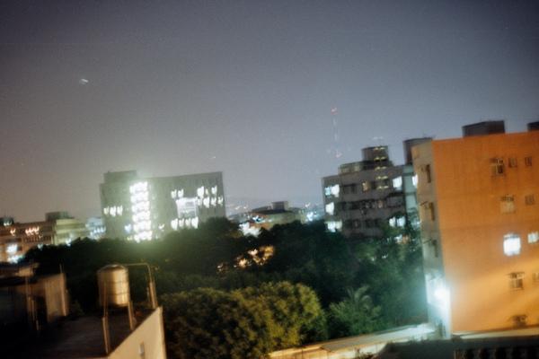 窗外夜景試拍