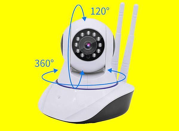 台中市智控雲端數位360度旋轉搖擺轉頭PTZ型式IPCAM P2P無線WiFi紅外線攝錄影像機監視器-001.jpg