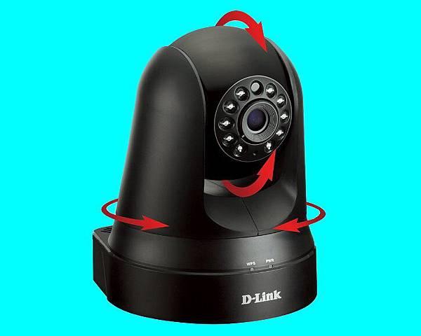 台中市雲端數位360度旋轉HD搖擺轉頭PTZ型式IP CAMERA P2P WiFi夜視型無線網路紅外線攝錄影像機監視器-003.jpg