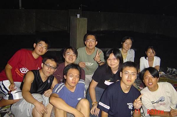 2003年中秋夜烤(電機系)