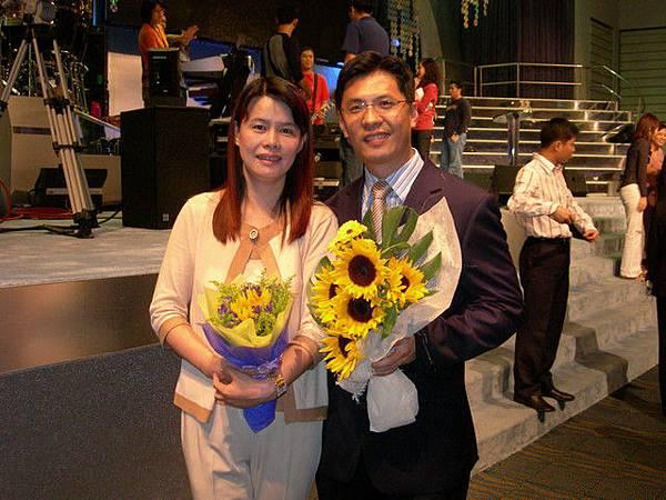 武昌教會--賢智牧師(哥)+美玲師母(姊)