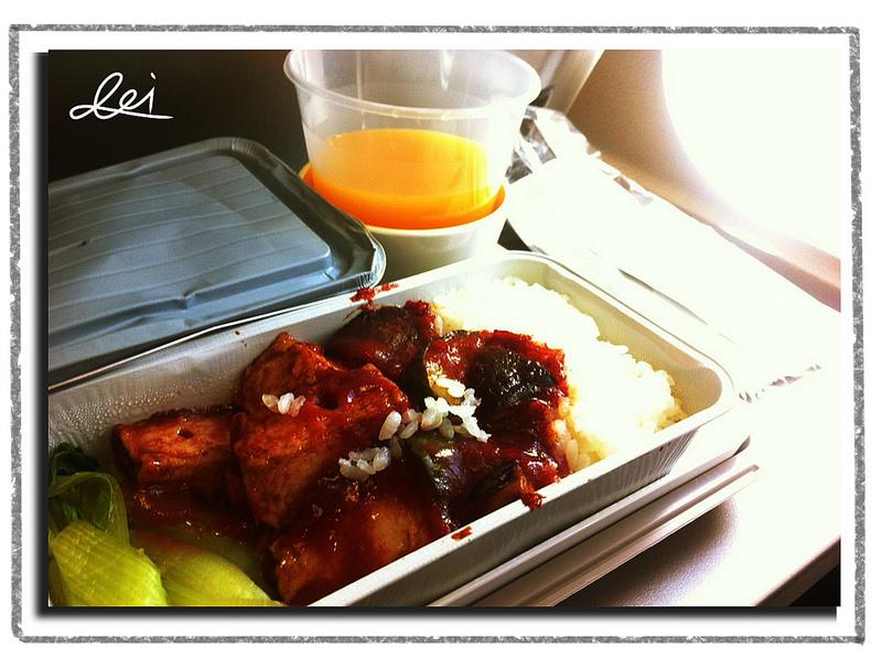 0820飛機上午餐2