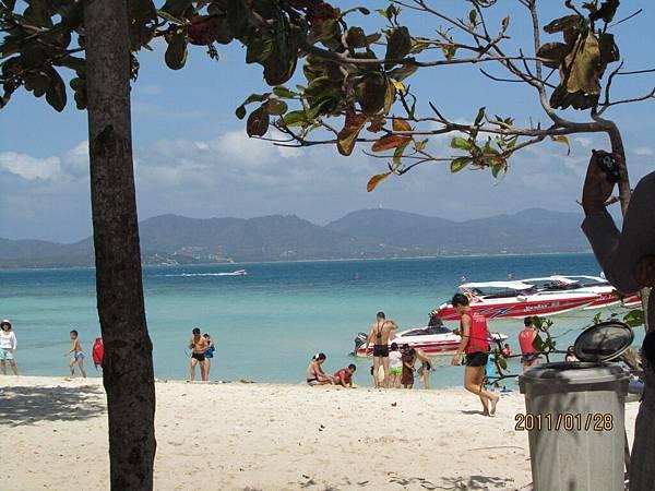 超美的海和沙攤.JPG