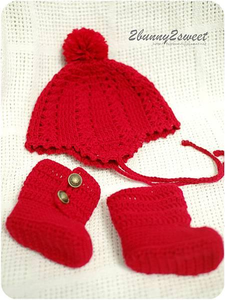 花漾飛行帽&雪靴組合-亮眼紅-03.jpg