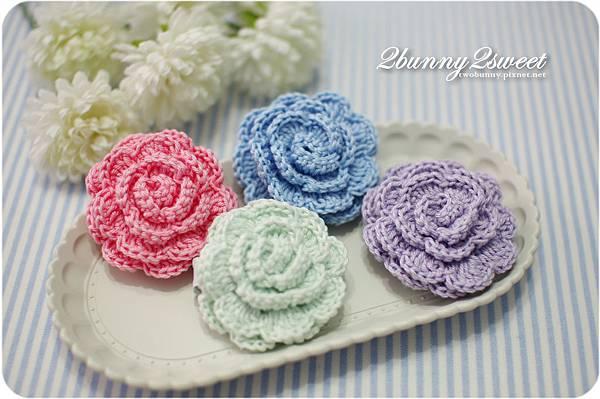 鉤織花朵髮夾-02