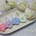 鉤織花朵髮夾-04