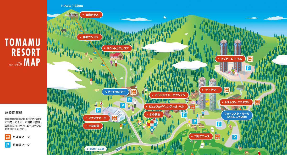 TAMAMU map