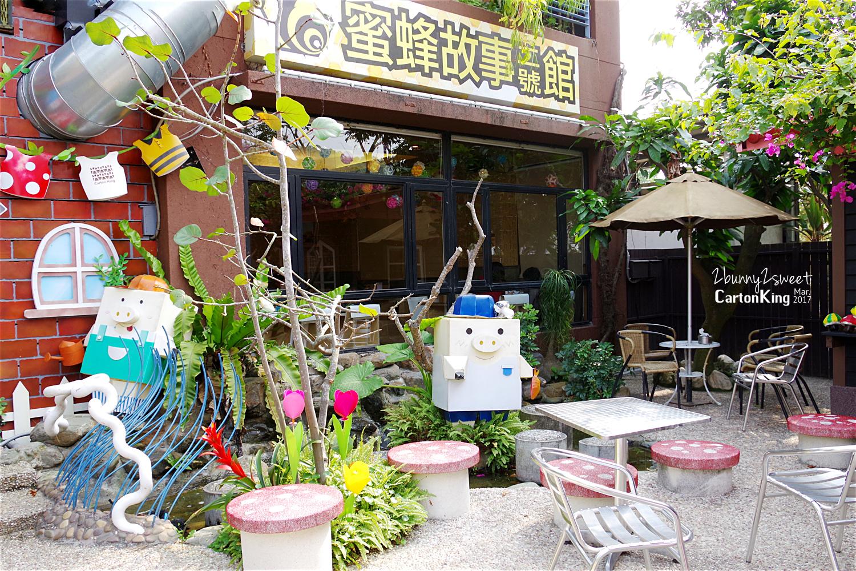 台中大坑紙箱王創意園區蜜蜂故事館菇菇小鎮