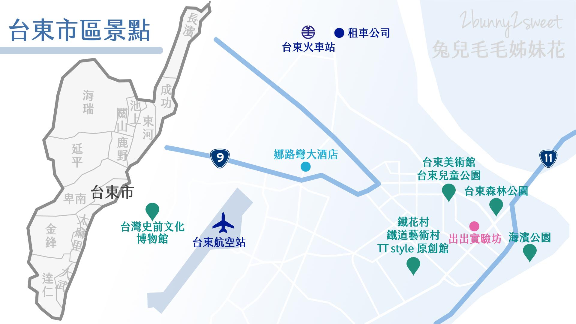台東旅遊景點-台東市