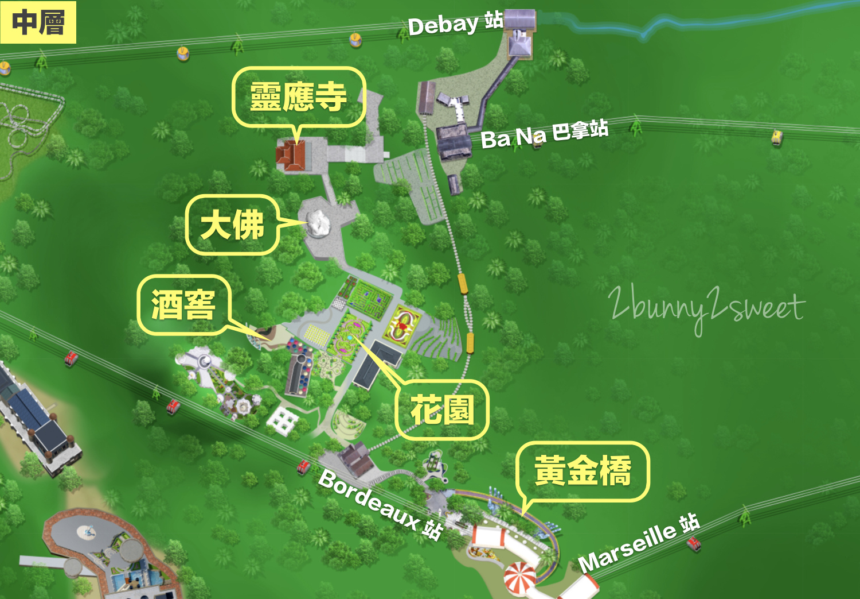巴拿山 map-02
