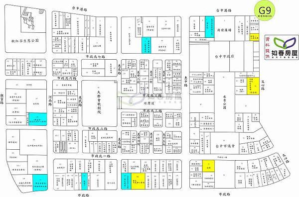 七期新市政中心土地使用配置-2011.09