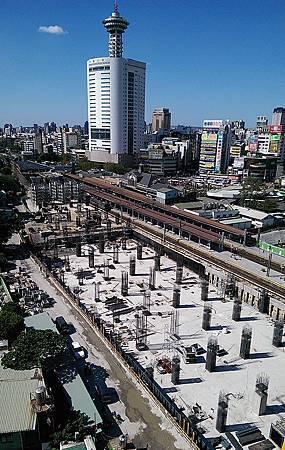 艾美酒店&台中鐵路高架化工程