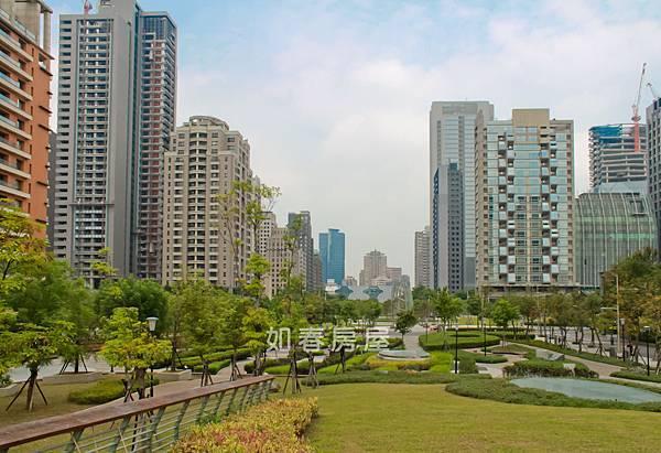 市政公園與台中國家歌劇院