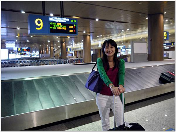到機場拿行李