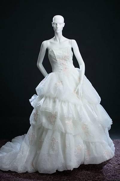 迎娶與進場白紗