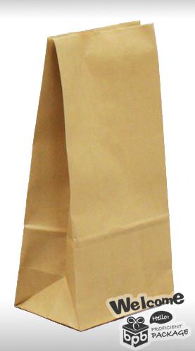 立體袋 赤牛皮 空白