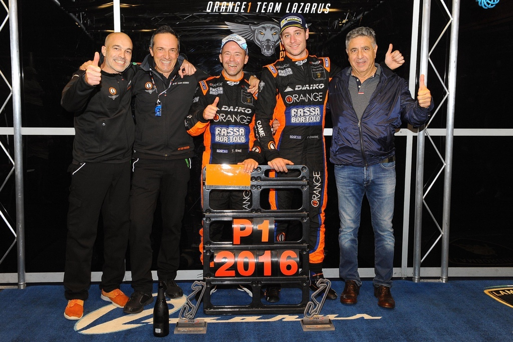 Orange 1 Team Lazarus-青年車手組合Thomas Biagi 與 Fabrizio Crestani榮獲桂冠