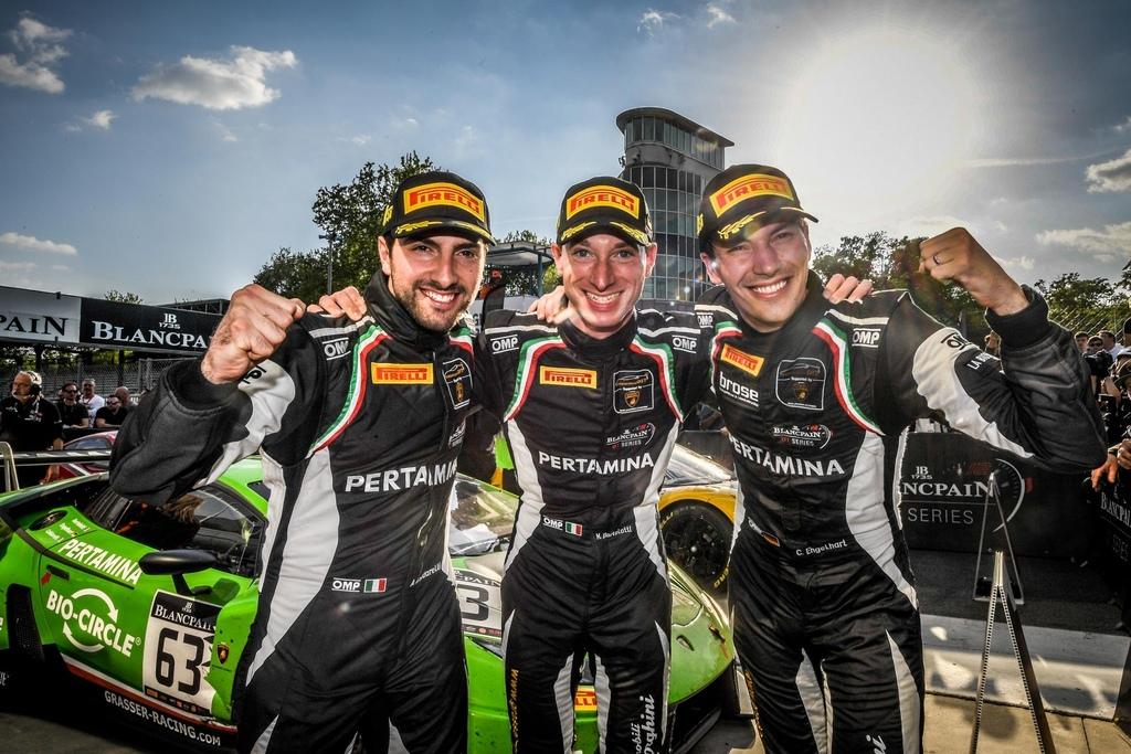 Blancpain 耐久賽開幕站 Lamborghini Huracan GT3勇奪桂冠 (1)