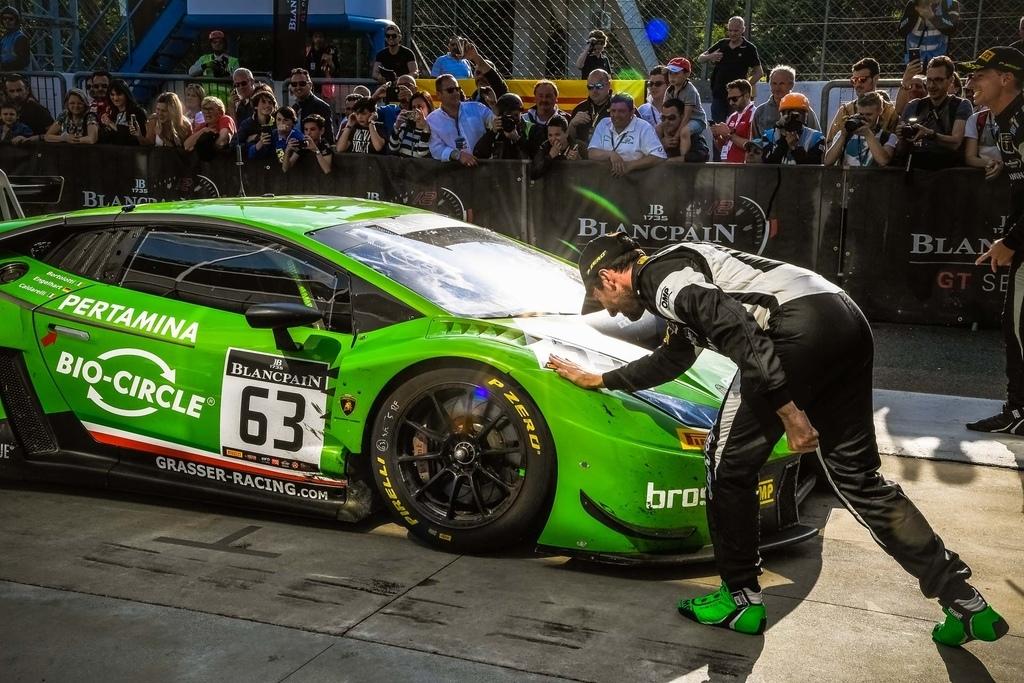 Blancpain 耐久賽開幕站 Lamborghini Huracan GT3勇奪桂冠 (4)