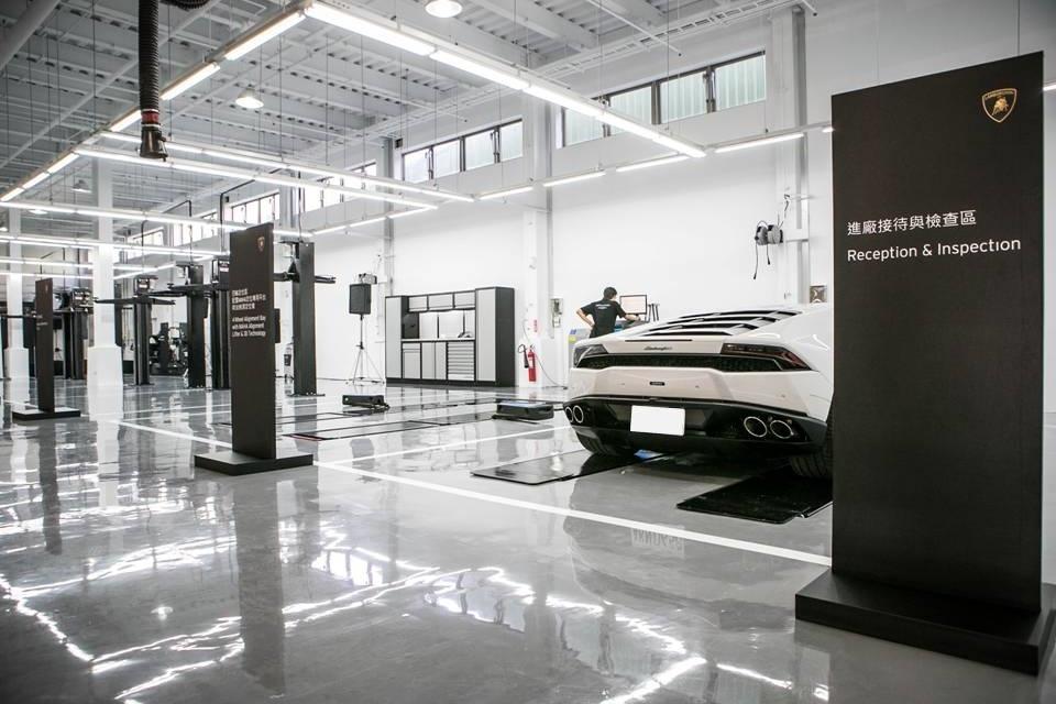 Lamborghini Taipei 南臺灣高雄服務中心(2)
