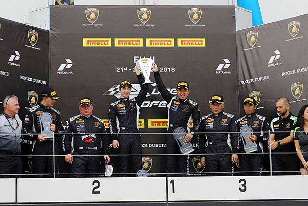 2018 Lamborghini Super Trofeo Asia亞洲挑戰賽日本富士站強勢來襲,Lamborghini Taipei代表車手陳意凡二度登頂Pro-Am組別分組冠軍席次(1)