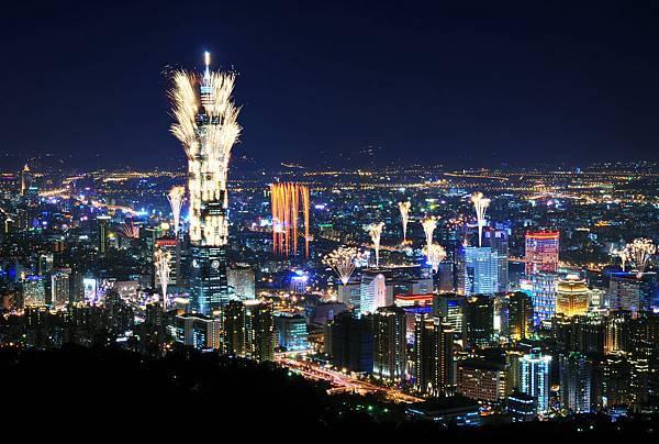 台北101(煙火景)
