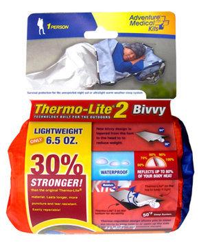 冒險醫療箱」2007新款的緊急避難露宿袋第二代,184公克,比原始第一代還堅韌強壯,更輕、更不易破,只是單價比第一代還貴。喔,還有若不幸戳破,可用Duct Tape萬用膠帶輕鬆地修補。.jpg