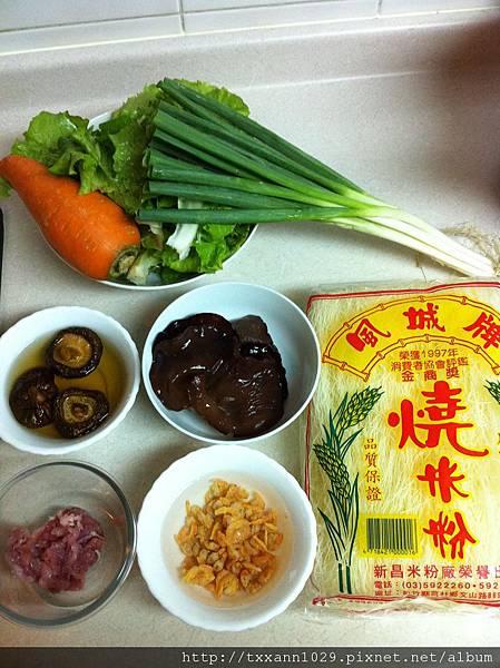 20120131 炒米粉食材2